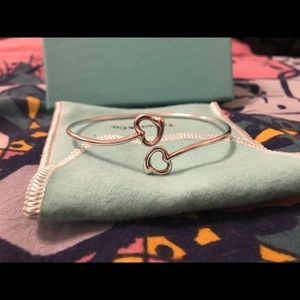 Tiffany & Co. Open Heart Bangle